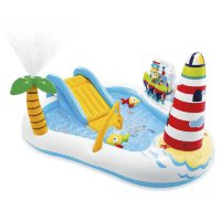 "Игровой центр - бассейн ""Fishing Fun"" 218х188х99см Intex 57162"